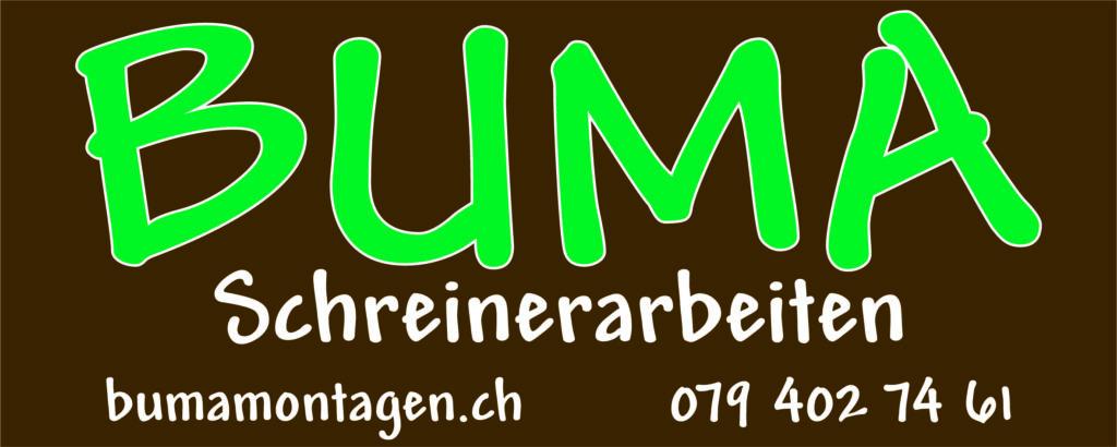 Sponsor Schwyberg Bike_BUMA Schreinerarbeiten