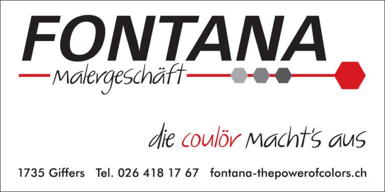Sponsor Schwyberg Bike_Fontana Malergeschäft Giffers