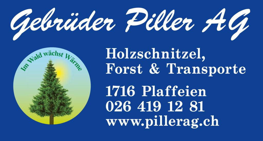 Sponsor Schwyberg Bike_Gebrüder Piller AG Plaffeien